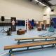 schoolvoorstelling in een gymzaal