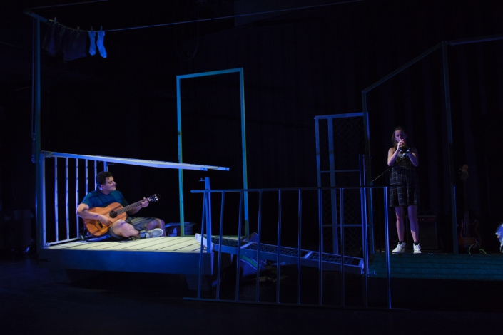 Ali en Nino een jeugdtheater voorstelling van theatergroep Witte Raaf