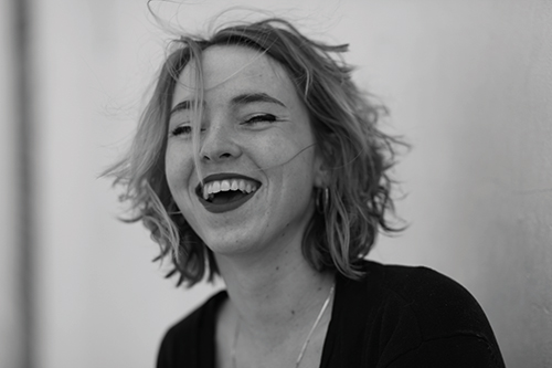 Anne van der Steen, jeugdtheater gezelschapsfoto