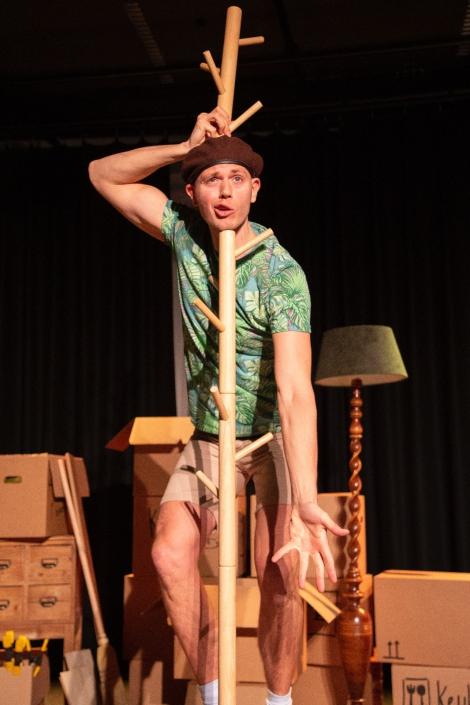 Baas in het Bos een jeugdtheater voorstelling van Theatergroep Locals over het milieu