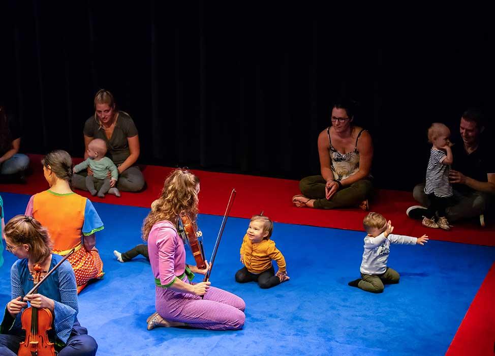 Babyconcert een klassiek concert van Krulmuziek