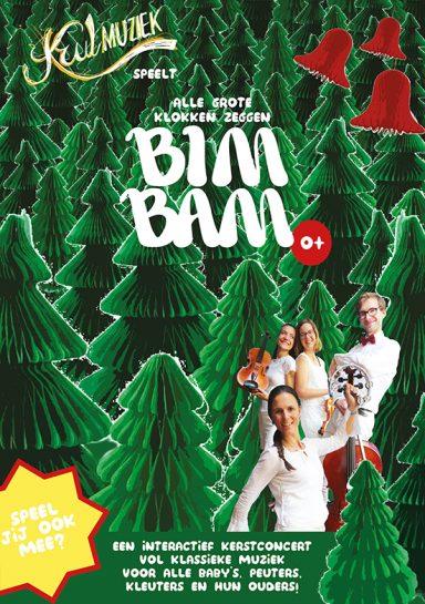 het sprankelende kerstconcert voor klassieke muziek met dennenbomen en kerstklokken voor baby's, peuters en kleuters