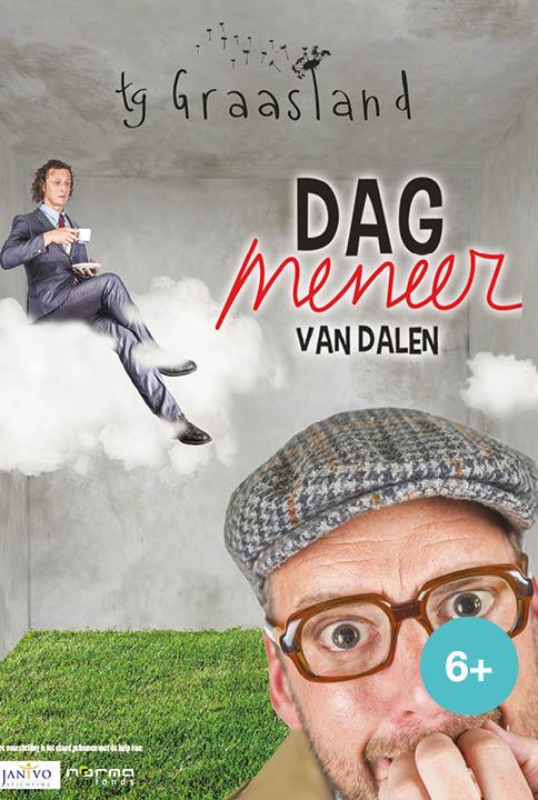 dag meneer van dalen is een jeugdtheater voorstelling van theatergroep Graasland
