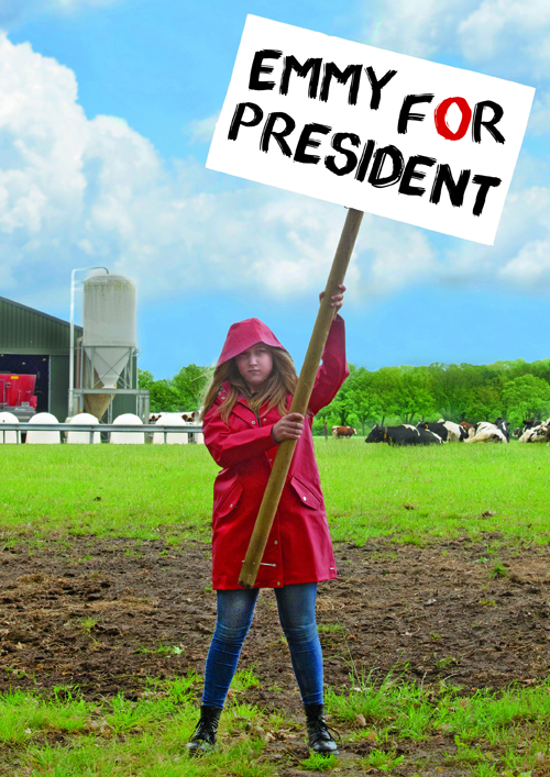 Emmy for President Theater Wei jeugdtheater voorstelling