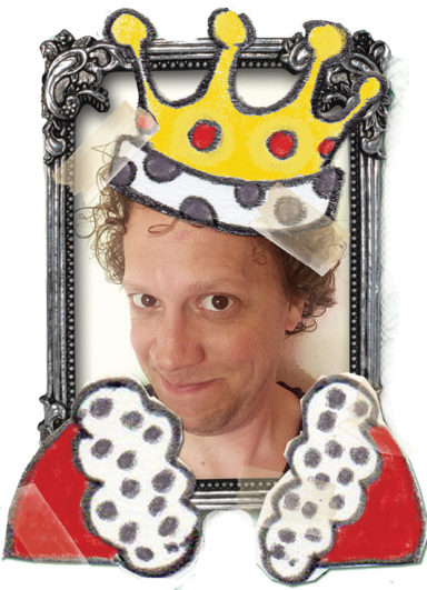 nieuwe kleren van de keizer kindertheater kindervoorstelling cultuureducatie sprookje think Marc Nochem