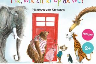 He wie zit er op de wc naar het prentenboek van Harmen van Straaten een klassiek concert voor peuters en kleuters van Krulmuziek met Felice van der Sande
