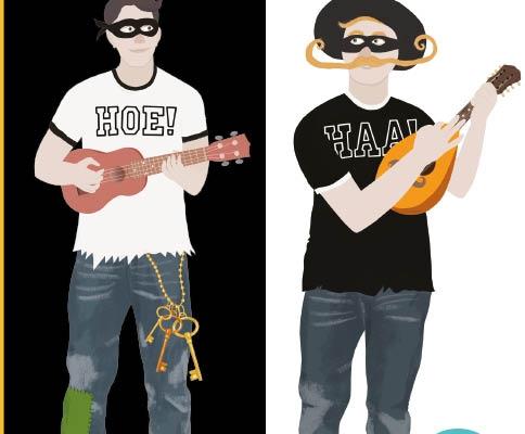 Hoehaa een muziek programma van Jeroen Schipper bekend van 123Zing zeer geschikt voor cultuureducatie