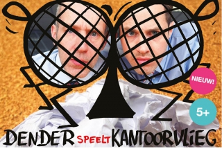 Kantoorvlieg is een fysieke jeugdtheater voorstelling van theatergroep Dender
