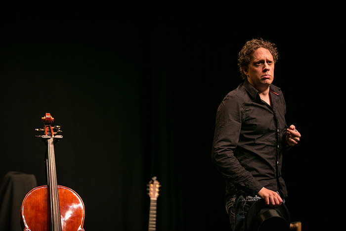 muziektheater jeugdtheater cello gitaar Marc Nochem Bram van Oers