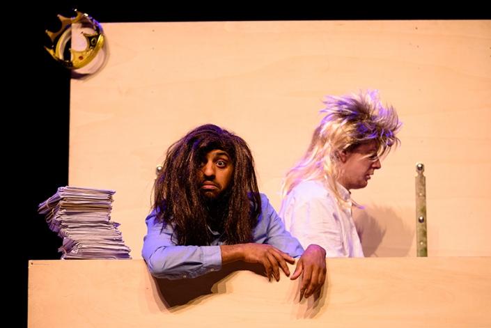 Koning van Katoren een jeugdtheater voorstelling naar het boek van Jan Terlouw