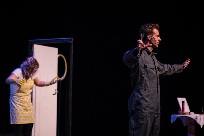 een hilarische kindertheater voorstelling van het rotterdamse theatergezelschap lefkop
