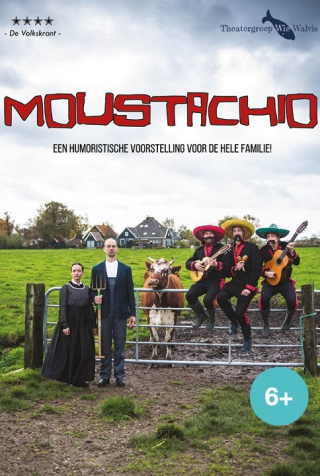 Moustachio is een muzikale jeugdtheater voorstelling van Wie Walvis