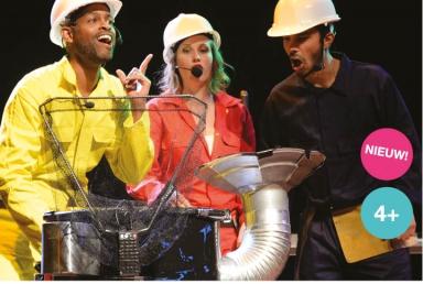 Een feestje vol swingende caribische muziek met Padaboom van Drumdrumdrum