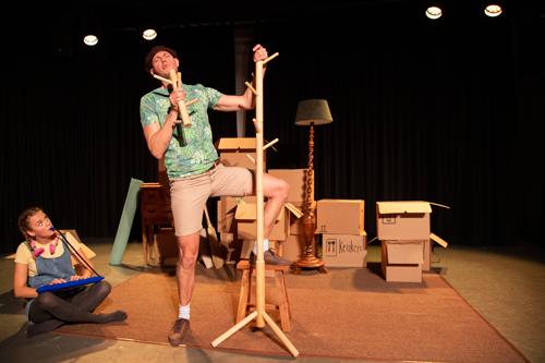 Baas in het bos een jeugdtheater voorstelling van theatergroep Locals