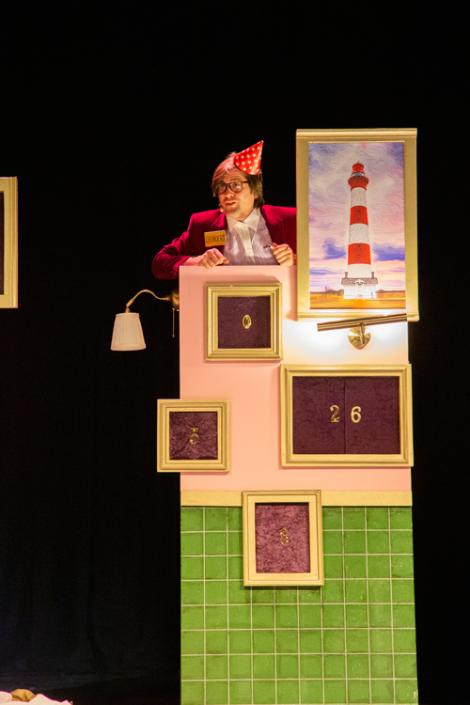 de piraten van kamer 16 een jeugdtheater voorstelling van Heer Otto