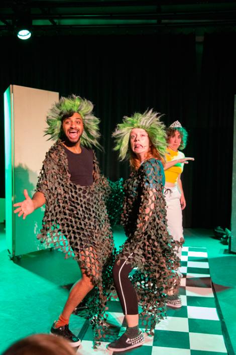 het prinsessenverzet een jeugdtheater voorstelling van Theatergroep de Nachtdieren