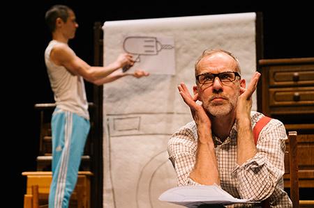 Bliep Bliep een jeugdtheater voorstelling van theatergroep Dender