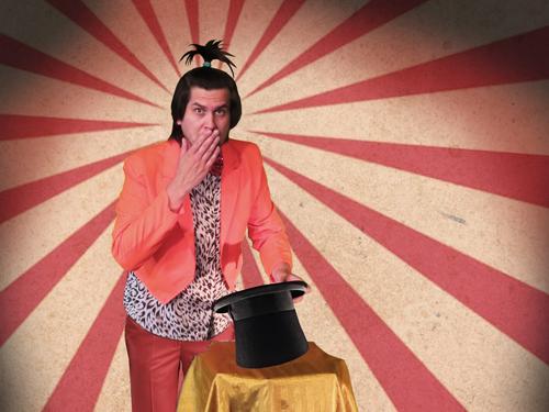 Zirkoes Fantaztika jeugdtheater Heer Otto circus goochelaar