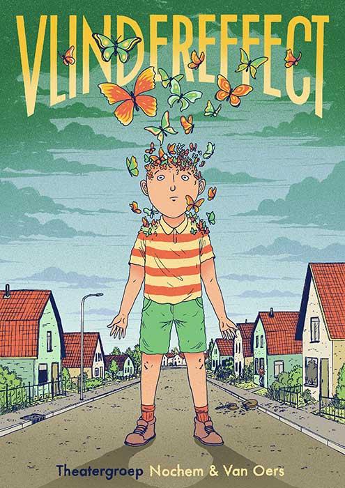 Vlindereffect een muzikale jeugdtheatervoorstelling van Nochem en van Oers