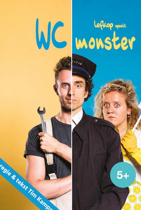 WC monster een jeugdtheater voorstelling van Lefkop