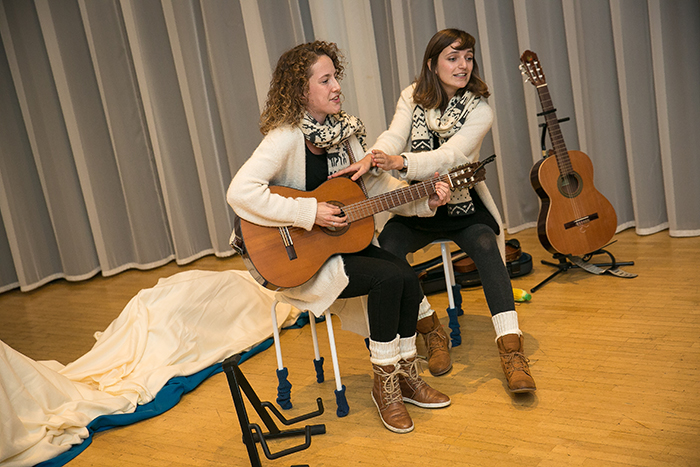 peuter kleuter liedjes winter kindertheater kindervoorstelling cultuureducatie
