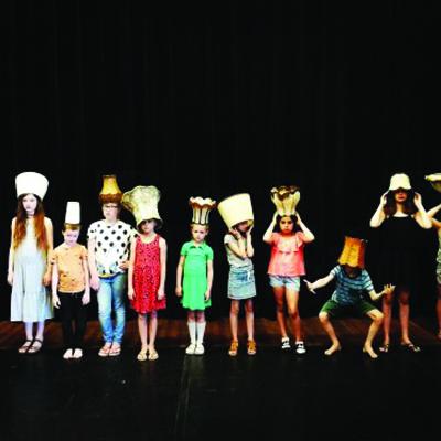 Wildpark jeugdtheater voorstelling Anne. Kindertheater kindervoorstelling cultuureducatie