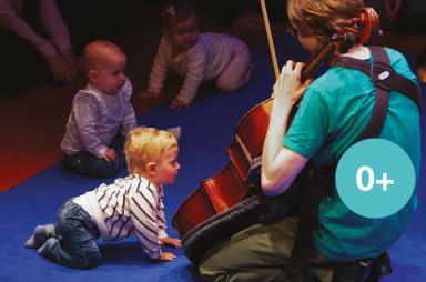 Interactief klassiek concert voor baby's en dreumesen