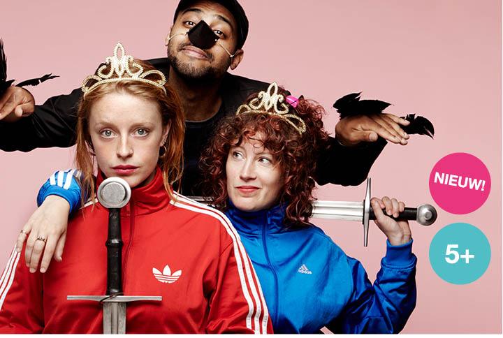 het prinsessenverzet een jeugdtheater voorstelling in een modern jasje van de nachtdieren