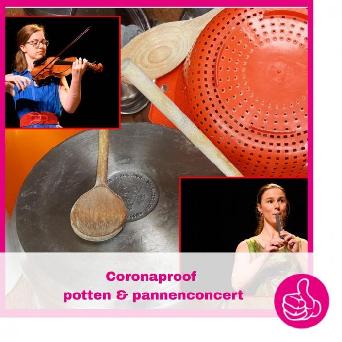 Krulmuziek maakte speciaal voor de corona situatie een veilig nieuw concert