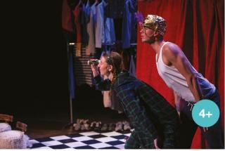De Dromeneter een jeugdtheater voorstelling van theatergroep Locals