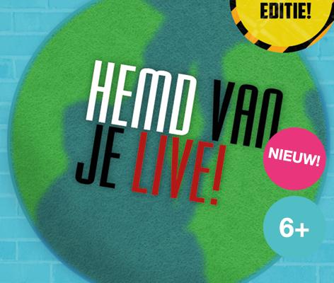 Hemd van je Live, de eerste online talkshow voor kinderen