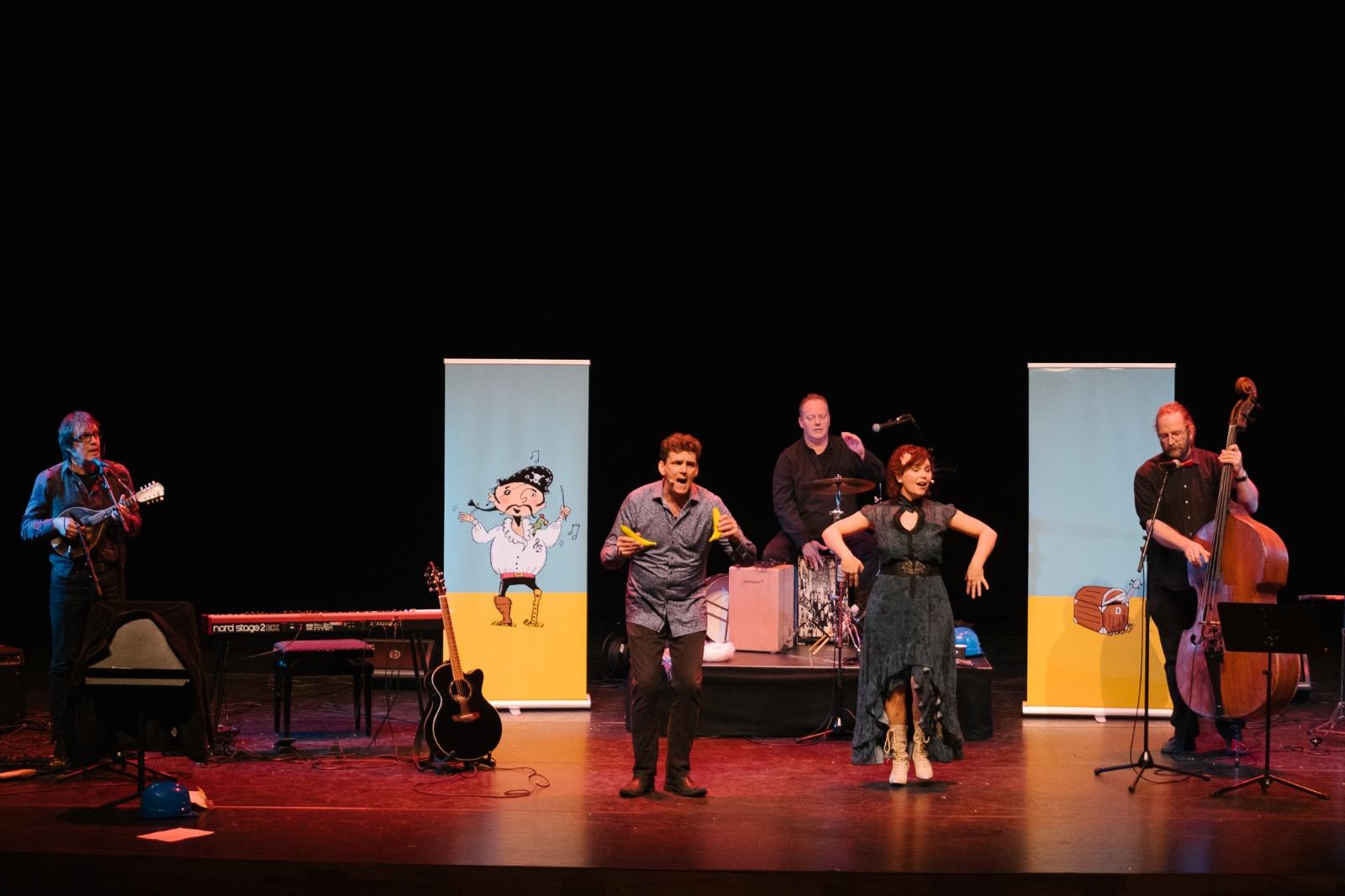 de operapiraat een jeugdtheater voorstelling van Jeroen Schipper