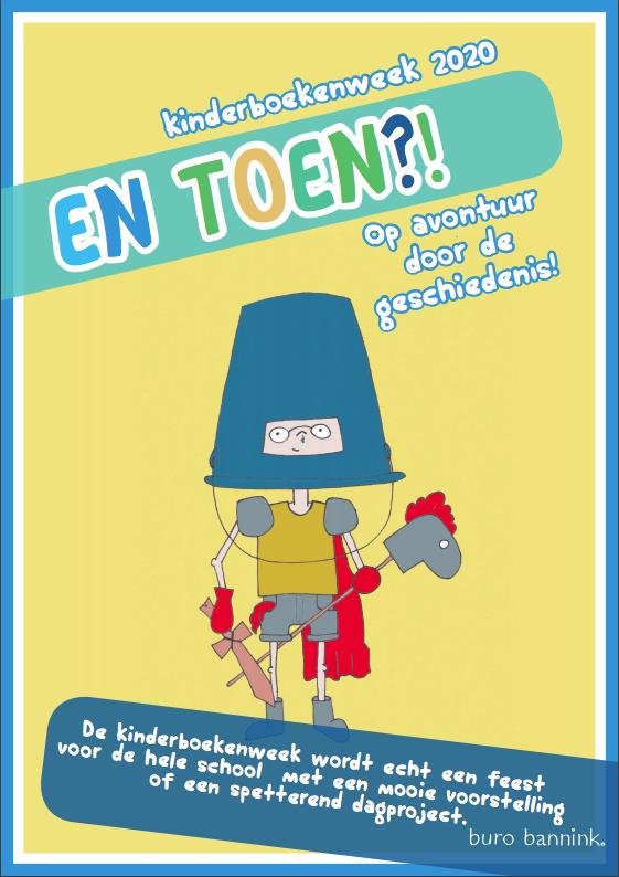Kinderboekenweek geschiedenis theater aanbod voor op school en in het theater