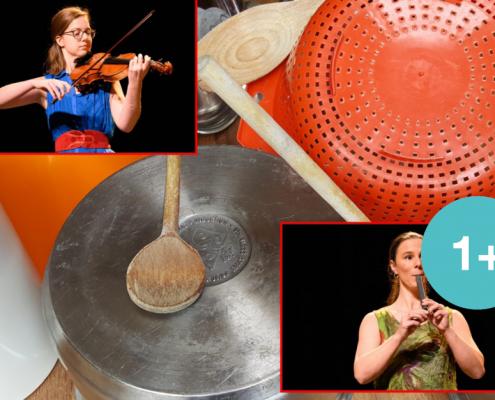 Potten en Pannen interactief klassiek concert voor peuters