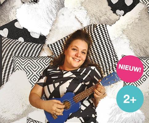 Lieve luister liedjes jeugdtheater voorstelling van Suzanne zingt en Onder het Buro