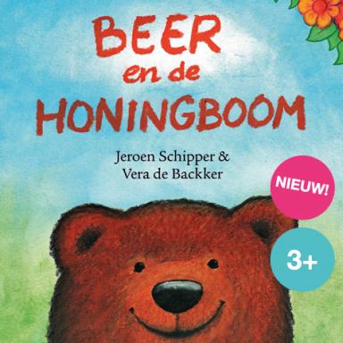 Voorleesvoorstelling met muziek over helpen en vrienden, Beer en de honingboom