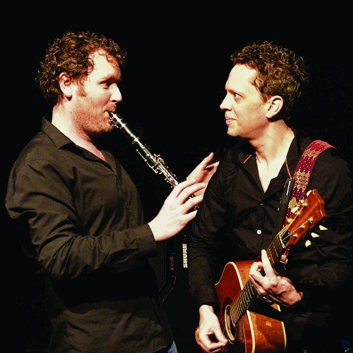 Marc Nochem Bram van Oers muziek kindertheater cultuureducatie cabaret gitaar klarinet