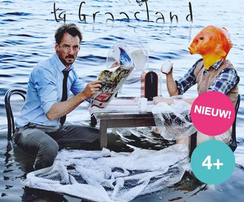 Pfff is een nieuwe voorstelling van tg Graasland met Emiel de Jong van Schudden