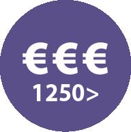 Icoon prijs 1250 euro en meer
