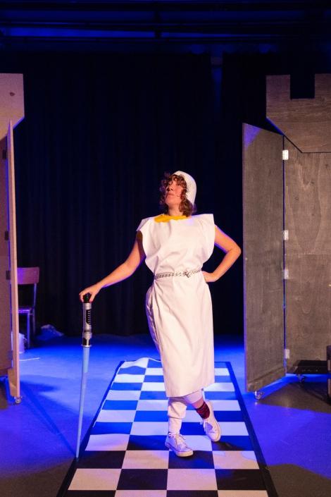 Het prinsessenverzet jeugdtheater voorstelling van de Nachtdieren met o.a. Jonata Taal
