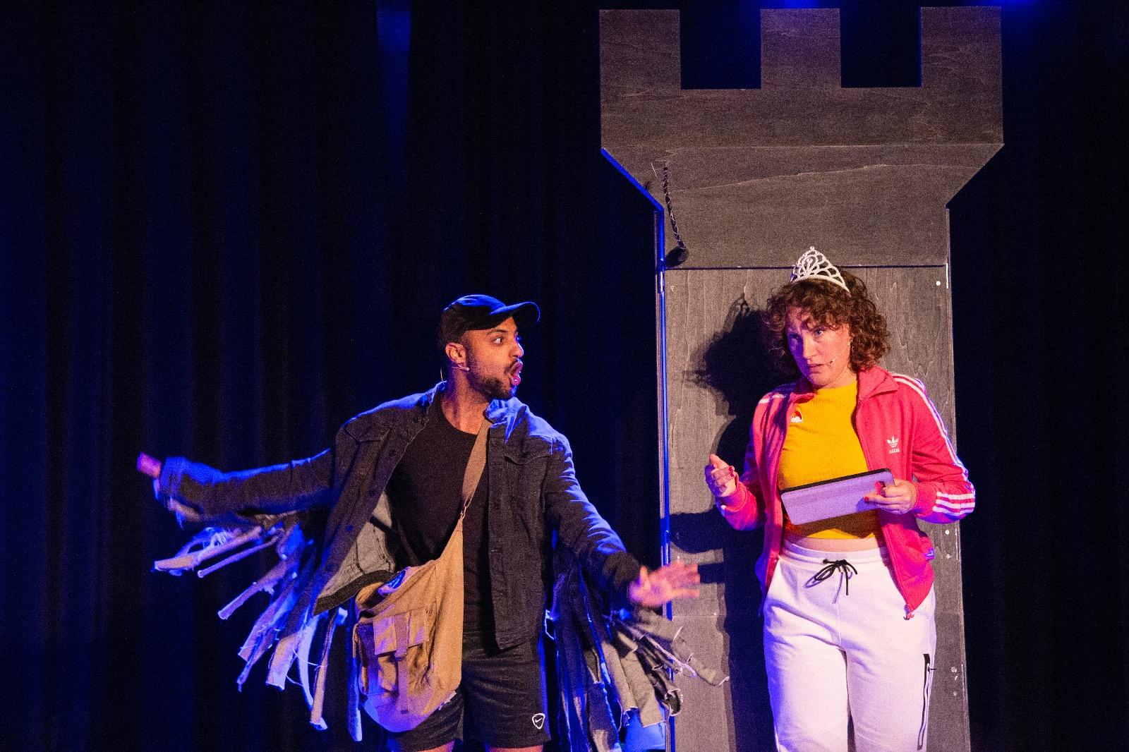 het prinsessenverzet een jeugdtheater voorstelling van de Nachtdieren