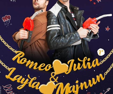 Romeo is op Julia en layla op manjun is een jeugdtheater voorstelling van Theatergroep Witte Raaf