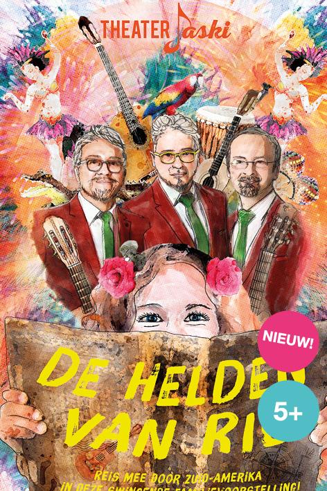 Muziektheater De Helden van Rio met wereldmuziek