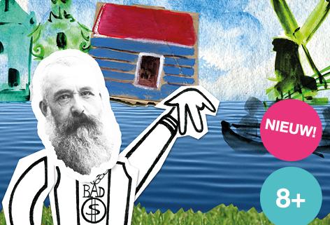Mijn spreekbeurt gaat over een dooie schilder, jeugdtheater over de geschiedenis van Monet