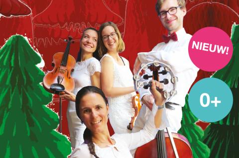 Interactief klassiek concert voor de allerkleinsten, met kerst