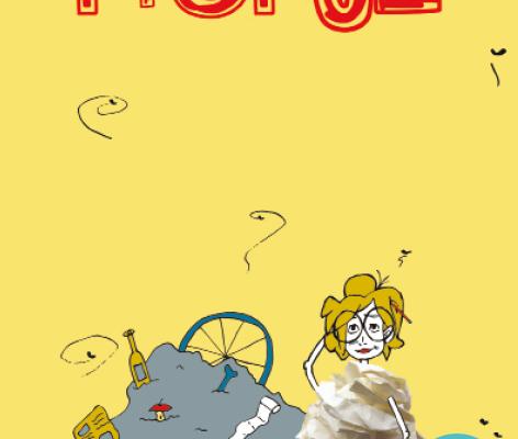 Propje, beeldend jeugdtheater over afval