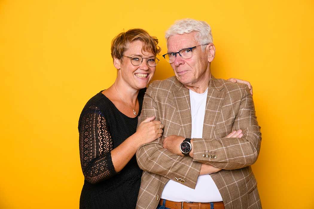 vader en dochter bannink werken samen voor inspirerend jeugdtheater